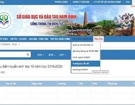 Nam Định công bố điểm thi vào lớp 10 THPT