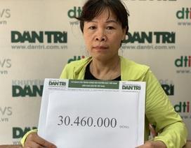 Bạn đọc tiếp tục giúp đỡ gia đình chị lao công bị xe tông tử vong số tiền hơn 30 triệu đồng