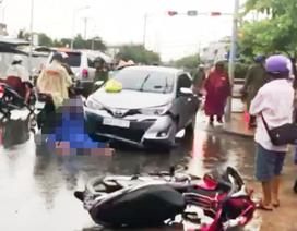 Ô tô tông 2 xe máy: Tài xế ô tô có nồng độ cồn vượt quy định