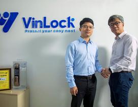 Vinlock trở thành đối tác chính cung ứng sản phẩm khóa cửa điện tử của Samsung tại Việt Nam