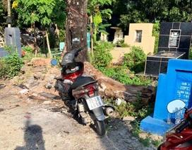 Bị CSGT truy đuổi, tên trộm vứt xe trong nghĩa địa