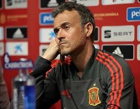 Luis Enrique từ chức HLV đội tuyển Tây Ban Nha