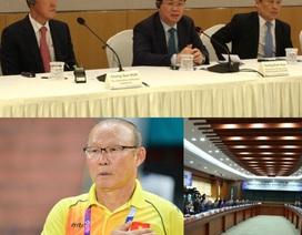 Ông Park Hang Seo được nhắc tới trong hợp tác kinh tế Việt - Hàn