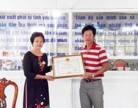 Chủ tịch UBND tỉnh Bạc Liêu tặng Bằng khen phóng viên Dân trí