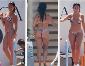 Bạn gái C.Ronaldo diện áo tắm khoe dáng bốc lửa trên du thuyền