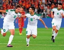 """Ba cầu thủ Iraq từng """"xé lưới"""" tuyển Việt Nam bị cấm thi đấu"""