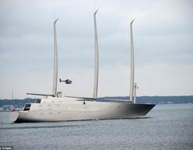 Chiêm ngưỡng siêu du thuyền khổng lồ trị giá hơn 10 nghìn tỷ đồng của tỷ phú Nga