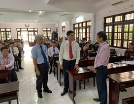 Lãnh đạo Bộ GD-ĐT kiểm tra công tác coi thi tại Bà Rịa - Vũng Tàu