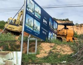 Tiến độ dự án Apec Mandala Wyndham Mũi Né: Nhà thầu đưa máy móc san nền và thi công đường tạm
