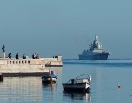 """Tàu Nga mang tên lửa cập cảng Cuba, Mỹ theo dõi """"nhất cử nhất động"""""""