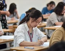 Thí sinh đến sớm, xem lại bài trước môn thi đầu THPT quốc gia 2019