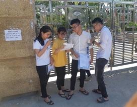Nghệ An: Đình chỉ một thí sinh vì mang điện thoại vào phòng thi