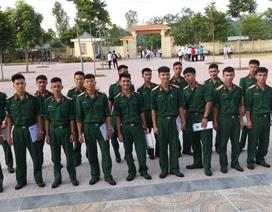 Điểm thi có 45 thí sinh của trường thiếu sinh quân