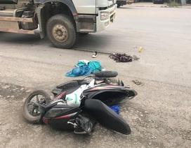 Sĩ tử Hà Nội bị xe bồn tông gãy chân sau buổi thi môn Ngữ Văn