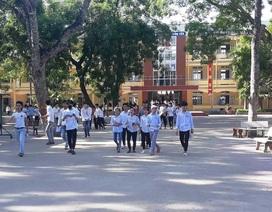Năm học 2019- 2020, học sinh xứ Nghệ tựu trường vào ngày 19/8