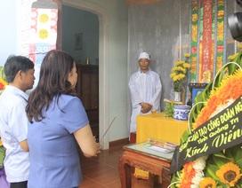 Bộ trưởng Bộ GD-ĐT gửi lời chia buồn cùng gia đình cô giáo bị nạn trong kỳ thi