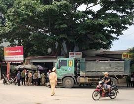 Xe tải tông xe máy, 2 phụ nữ tử vong, 2 trẻ nhỏ bị thương