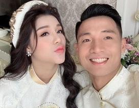 Hậu vệ Bùi Tiến Dũng làm lễ ăn hỏi với bạn gái ở Bắc Ninh