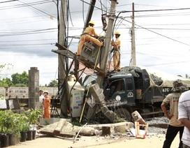 Xe tải gây tai nạn liên hoàn khiến 2 người thương vong, 600 hộ dân mất điện