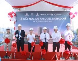 Tân Hoàng Minh chính thức cất nóc dự án D'. El Dorado II