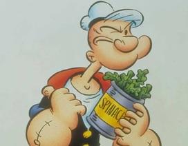 Thủy thủ Popeye cường tráng bất ngờ nhờ rau chân vịt là... có thật