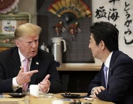 Ông Trump: Nếu Mỹ bị tấn công, Nhật Bản chỉ việc xem qua tivi