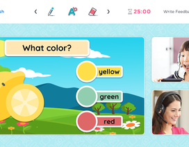 Giáo viên bản ngữ Bắc Mỹ dạy tiếng Anh cho trẻ em Việt Nam tại nhà với công nghệ lớp học trực tuyến
