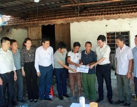 Bạn đọc Dân trí giúp đỡ người cựu binh Thành cổ Quảng Trị nuôi con ung thư 130 triệu đồng
