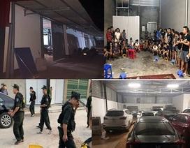 """Những con số gây """"choáng"""" trong vụ đột kích sới bạc khủng ở Bắc Giang"""