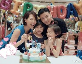Cựu hoa đán TVB Thái Thiếu Phân mang bầu lần ba ở tuổi 45
