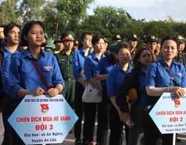 Giới trẻ Bình Định băng rừng, vượt biển làm phần việc thanh niên
