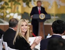Ái nữ nhà Trump phấn khích khi gặp nhóm nhạc thần tượng Hàn Quốc