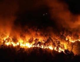 Hà Tĩnh: Lửa tiếp tục bùng phát dữ dội ở nhiều khu rừng