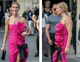 Celine Dion sành điệu đi xem thời trang