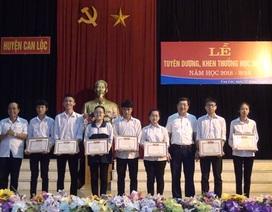 Hội Khuyến học Can Lộc đã huy động được 22 tỷ đồng trong công tác khuyến tài