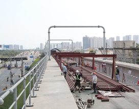 TPHCM đã tạm ứng 5.000 tỷ đồng để làm tuyến metro số 1