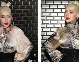 Ca sỹ Christina Aguilera bất ngờ tái xuất