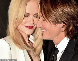 Nicole Kidman rạng ngời hạnh phúc bên chồng
