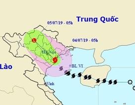 Bão số 2 đổ bộ vào Hải Phòng - Nam Định