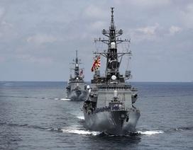 Nhật Bản lần đầu tăng hiện diện quân sự ở biển Đông