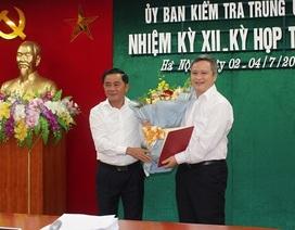 Điều động Ủy viên Ủy ban Kiểm tra Trung ương giữ chức Phó Bí thư Hà Tĩnh