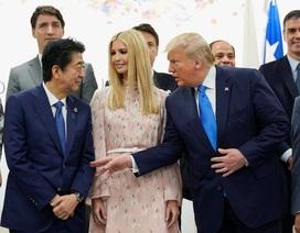 """Ông Trump phân trần việc con gái """"thể hiện quá đà"""" ở G20"""