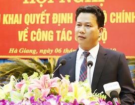 Chủ tịch UBND tỉnh Hà Tĩnh được điều động giữ chức Bí thư Tỉnh ủy Hà Giang