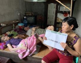 Bạn đọc Dân trí giúp đỡ ông bà nằm liệt giường gần 200 triệu đồng