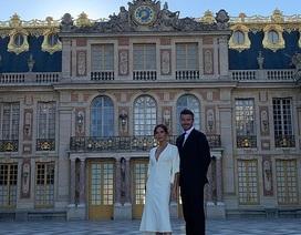 Vợ chồng Beckham sành điệu đi xem ca nhạc