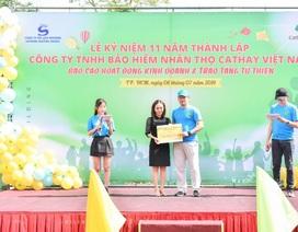 Bảo hiểm nhân thọ Cathay kỷ niệm 11 năm hoạt động tại Việt Nam