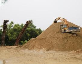 """""""Nóng"""" chuyện cát xây dựng giá cao tại Huế: """"đau đầu"""" tìm nguồn cung"""