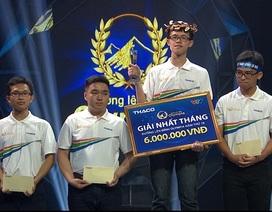 Nam sinh Đắk Lắk giành chiến thắng cuộc thi Tháng 1 Quý 4 Olympia