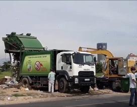 """Chủ tịch Đà Nẵng chỉ đạo """"nóng"""" khi hàng nghìn tấn rác ứ đọng trong thành phố"""