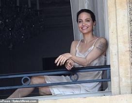 Angelina Jolie quyến rũ quay quảng cáo nước hoa